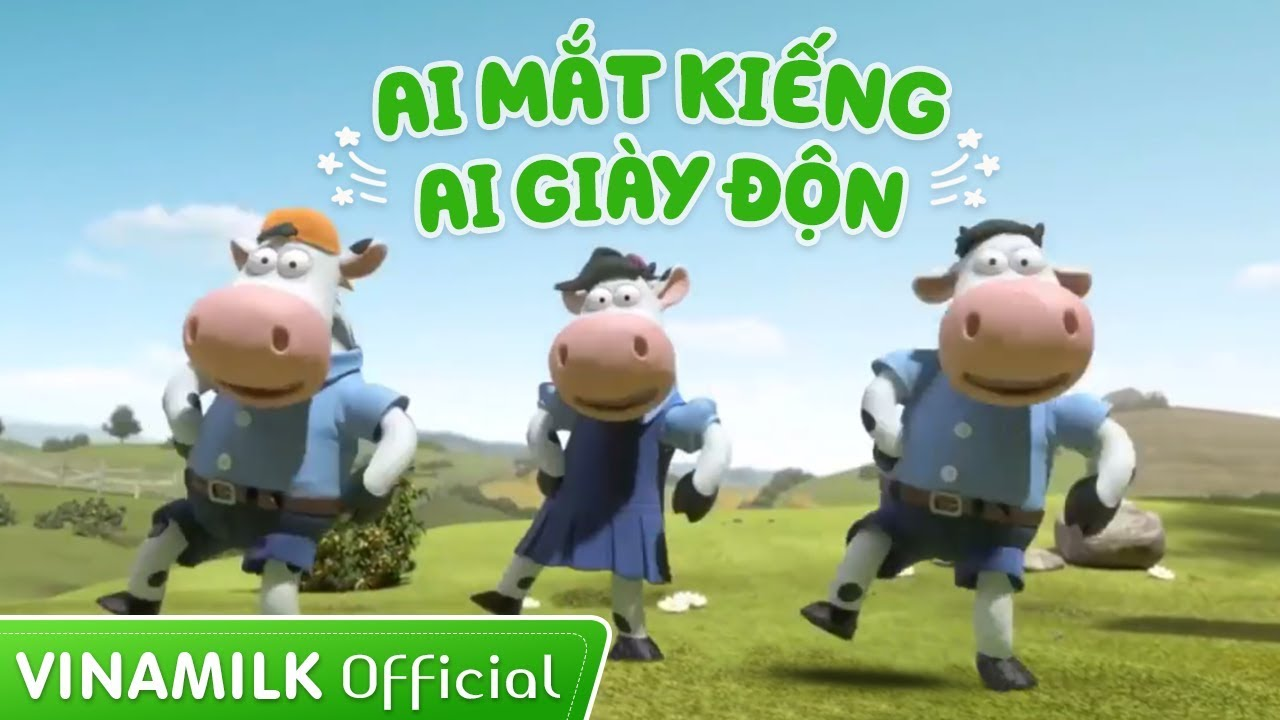 Phim hoạt hình 3D rất thành công trong chiến dịch quảng cáo của Vinamilk