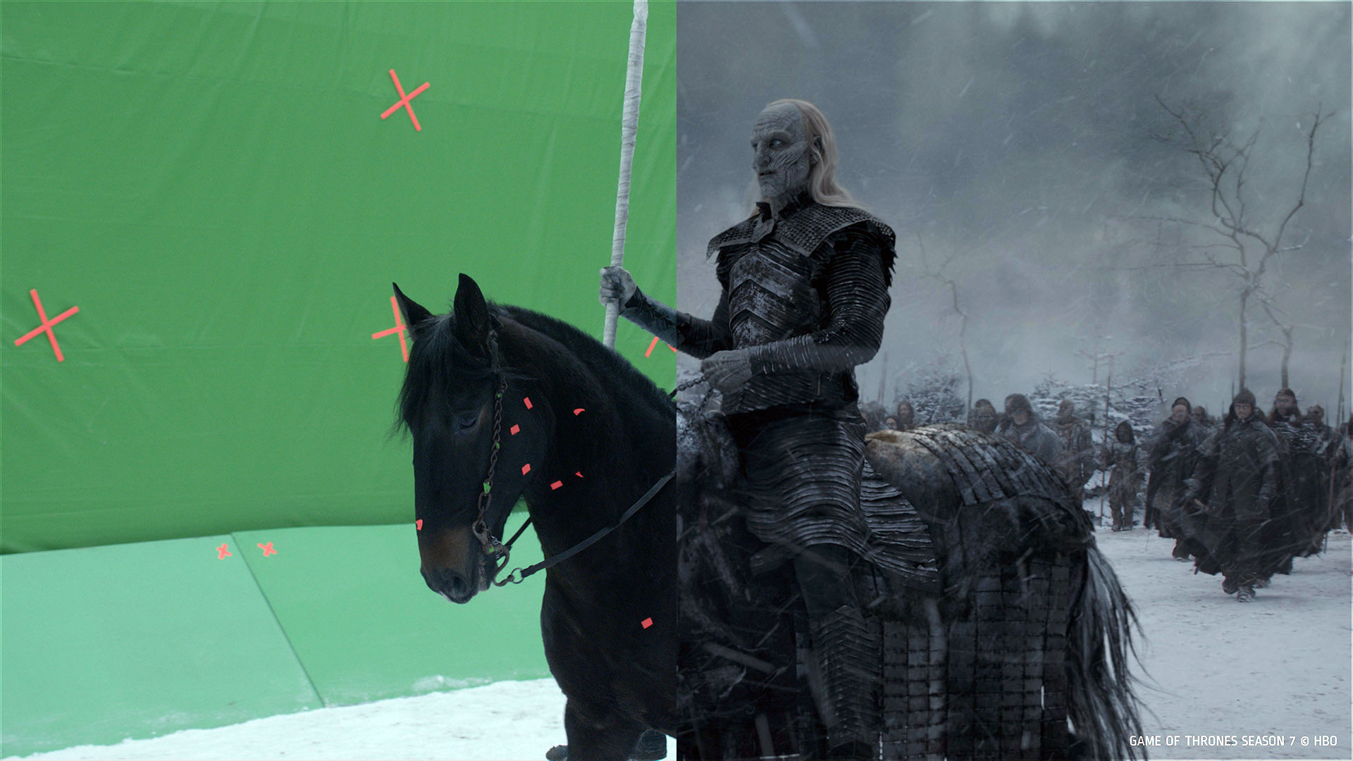 Kỹ xảo VFX trong phim Game of Thrones