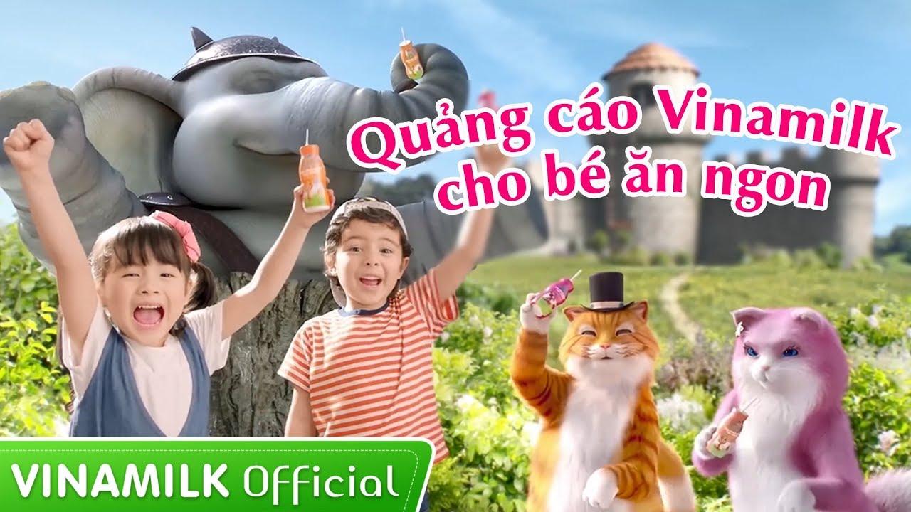 Vinamilk là một trong những đơn vị rất thành công với loại hình quảng cáo này
