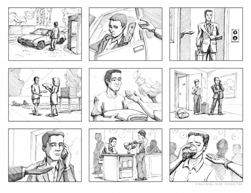 Storyboard giúp định hình phim hoạt hình của bạn