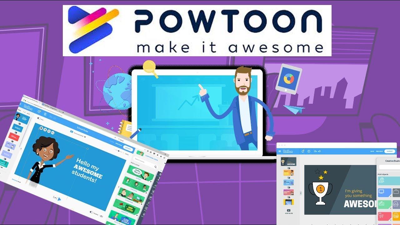 Powtoon.com là công cụ làm video hoạt hình trên nền tảng web