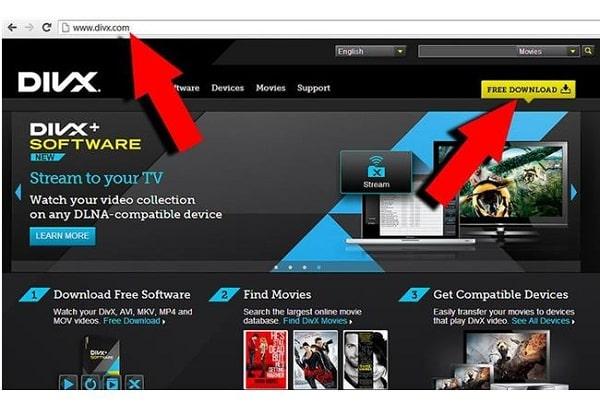 Định dạng video DivX (Digital Video Express)