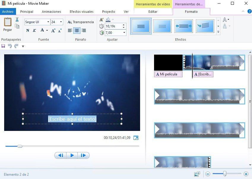 Ghép nhạc bằng Windows Movie Maker